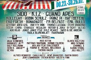 Helene Beach Festival Line Up 2015