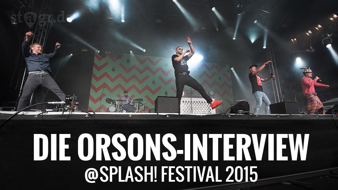 Die Orsons beim splash! Festival 2015