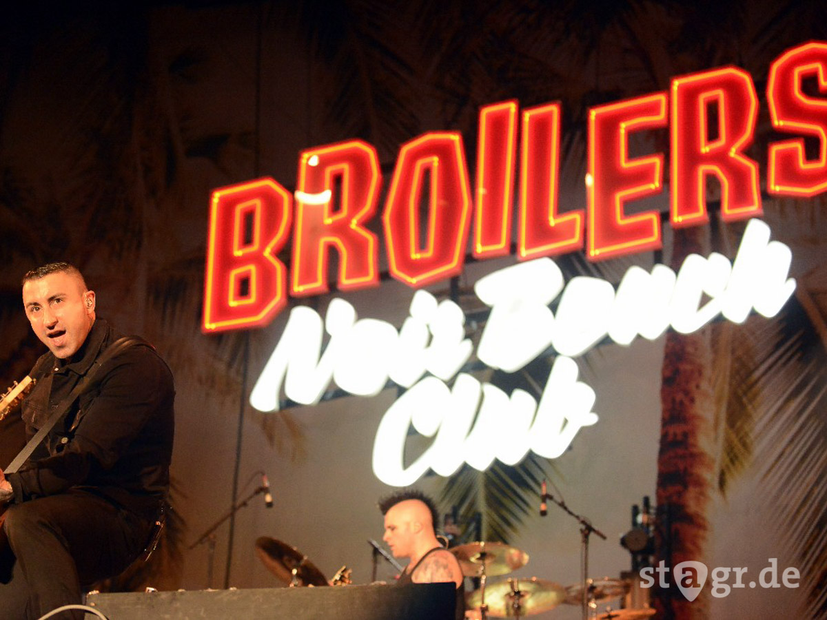 Highfield Festival 2015 – Broilers