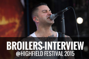Broilers Highfield Festival 2015