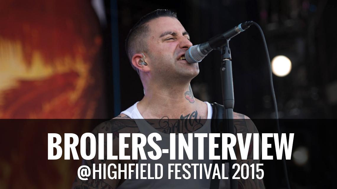 Broilers Highfield Festival 2015