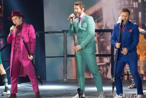 Take That 2015 – Velodrom Berlin