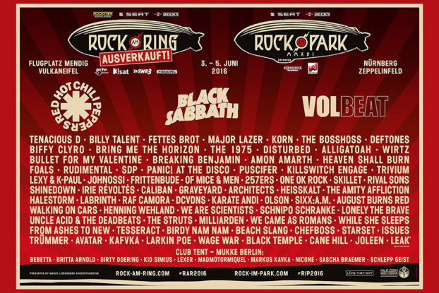 Rock am Ring / Rock im Park 2016
