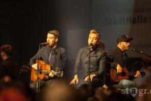 Revolverheld MTV unplugged / Stadthalle Rostock 2016