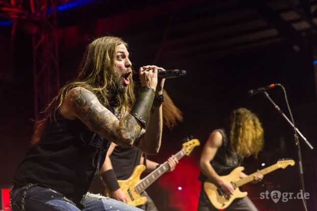 Iced Earth / Ruhrpott Metal Meeting 2017 / Turbinenhalle Oberhausen