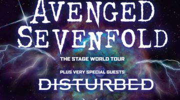 Avenged Sevenfold Tour 2017 / The Stage