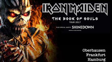 Iron Maiden / The Book Of Souls Tour 2017