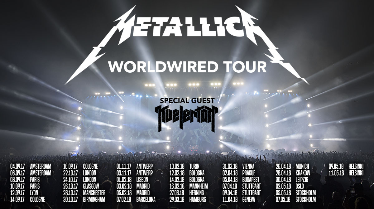 Metallica Europatour 2017-2018 / Worldwired Tour / Metallica Live in Deutschland 2017 / Metallica Live / Metallica Tour