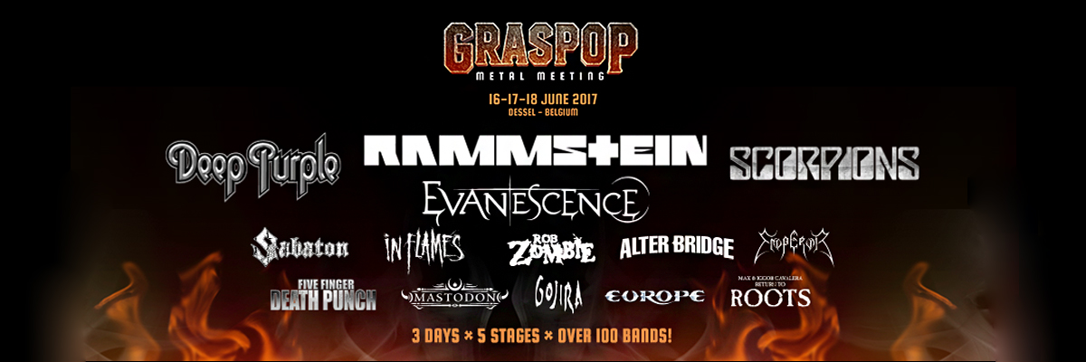 Graspop Metal Meeting 2017 / GMM 2017