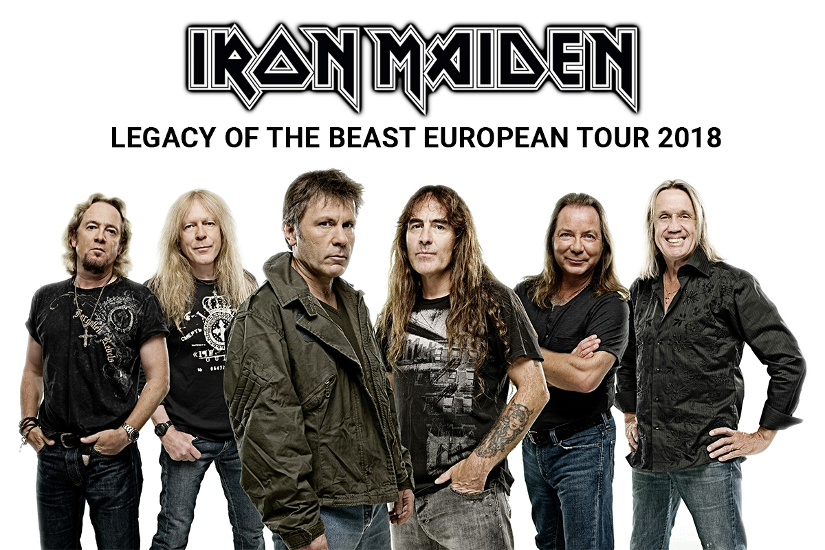 Iron Maiden Legacy of the beast tour 2018 / Iron Maiden Tour 2018