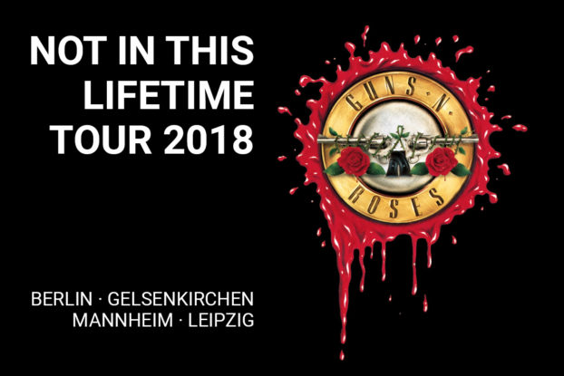guns n 39 roses tour 2018 rock legenden spielen noch 4. Black Bedroom Furniture Sets. Home Design Ideas