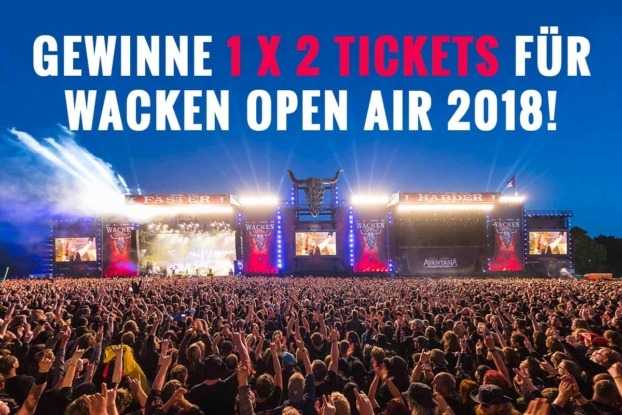Gewinne Tickets / Wacken 2018 Tickets / Wacken Open Air 2018 / WOA 2018