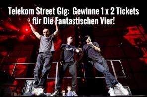 Gewinnspiel Die Fantastischen Vier 2018 / Die Fantastischen Vier Tickets 2018 / Tickets gewinnen