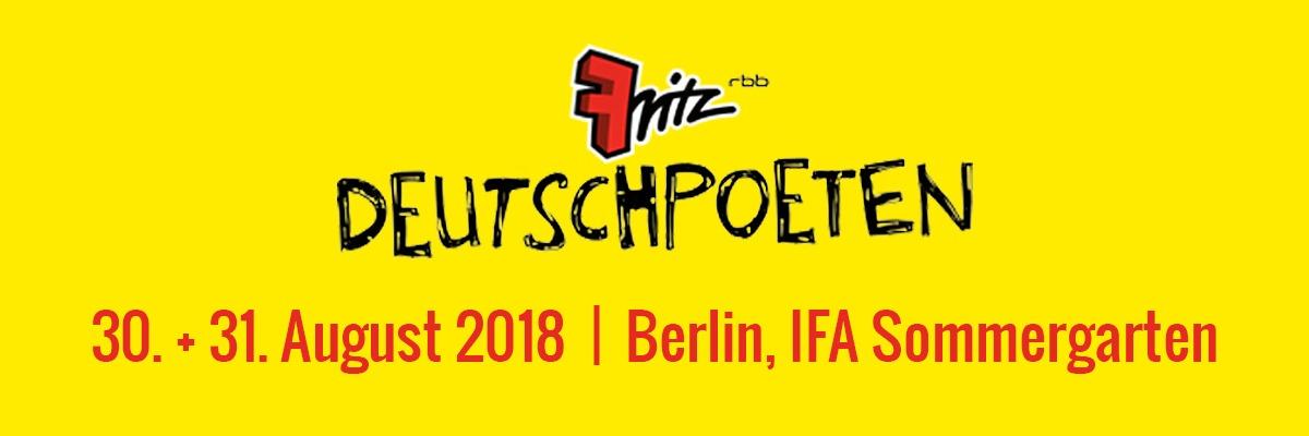 Fritz Deutschpoeten 2019