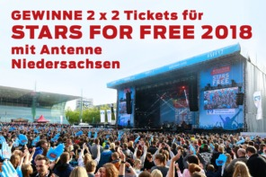 Gewinne Tickets / Stars For Free 2018 Tickets / Stars For Free 2018 Hannover / Stars For Free 2018