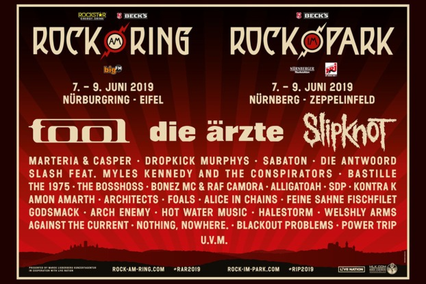 Rock im Park 2019 Line up / Rip 2019 Line up