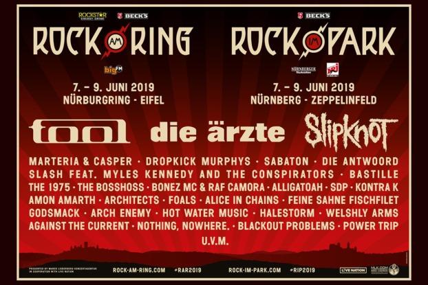 Rock am Ring 2019 Line up / Rar 2019 Line up