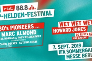 RBB 88.8 Pop-Helden-Festival 2019