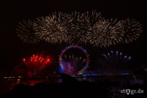 London New Year's Eve Fireworks 2019