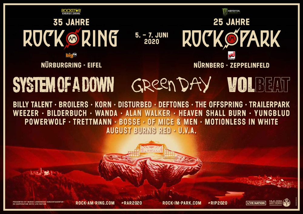 Rock am Ring 2020 Tickets