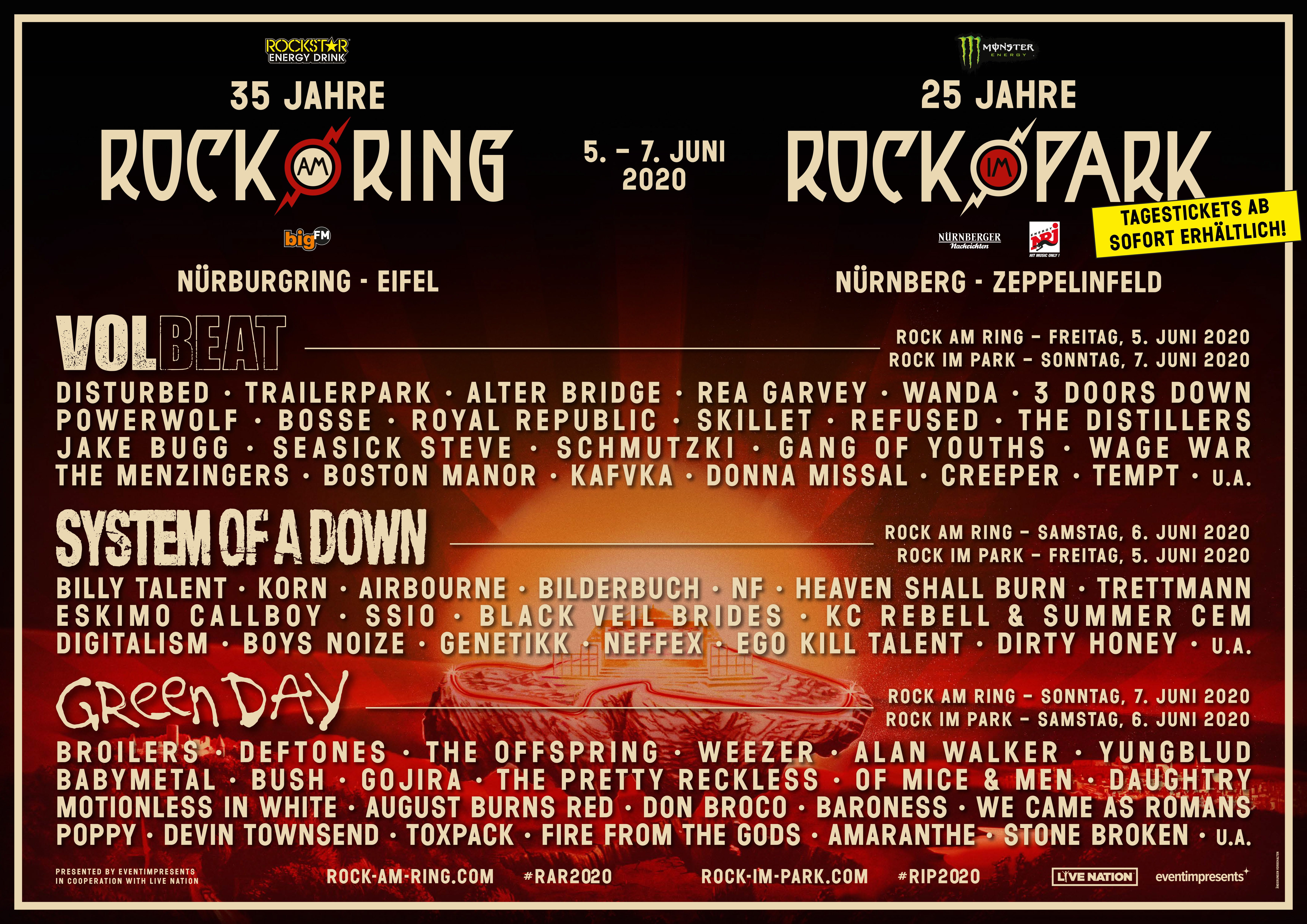 Rock am Ring 2020 / RaR 2020