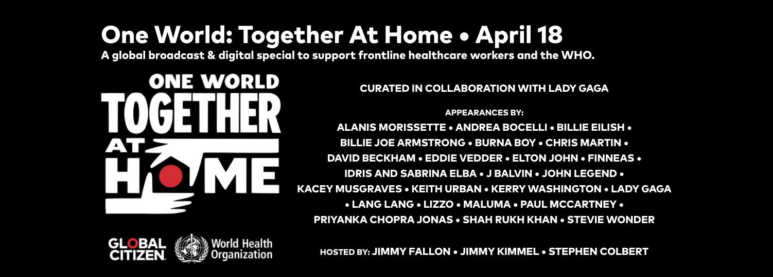 Together At Home / #Togetherathome