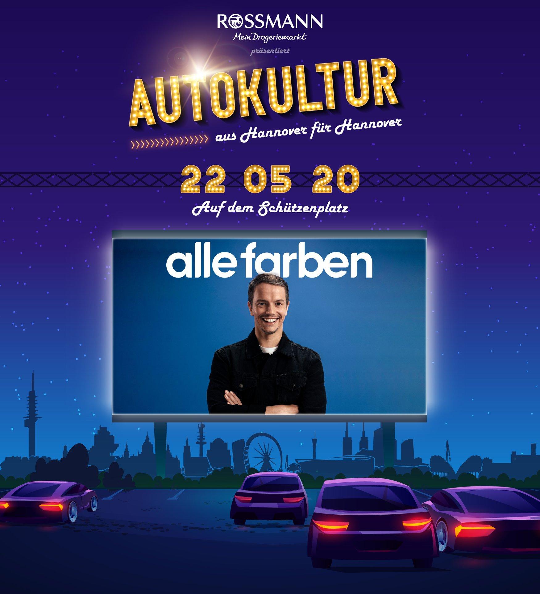 Alle Farben Hannover / Alle Farben Autokonzert Hannover