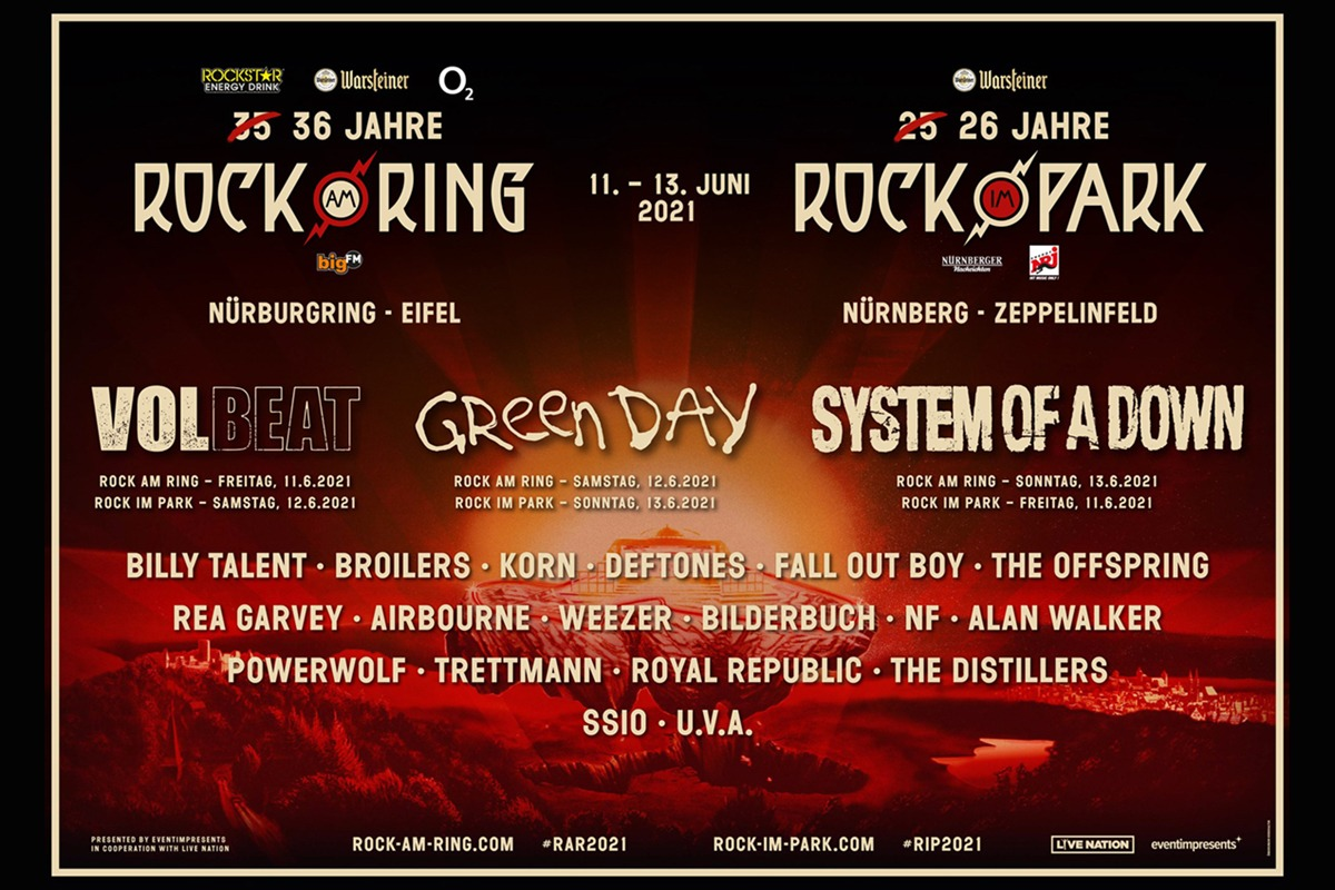 Rock Am Ring Lineup 2021