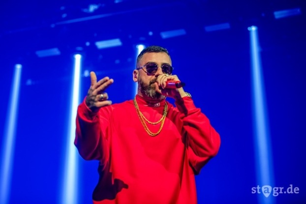 Sido beim Back to Live Open Air Berlin 2020