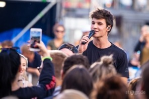 Wincent Weiss beim Back to Live Open Air Berlin