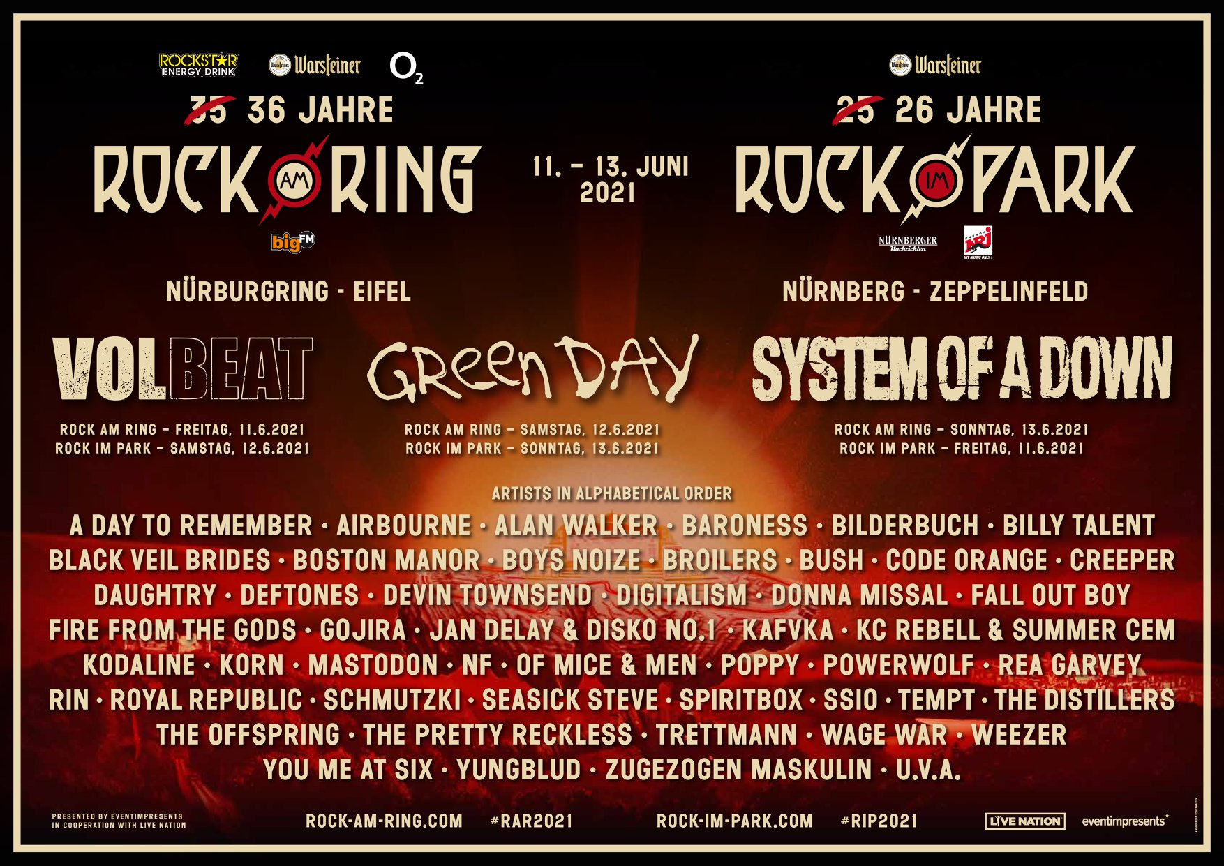 News Rock Am Ring 2021